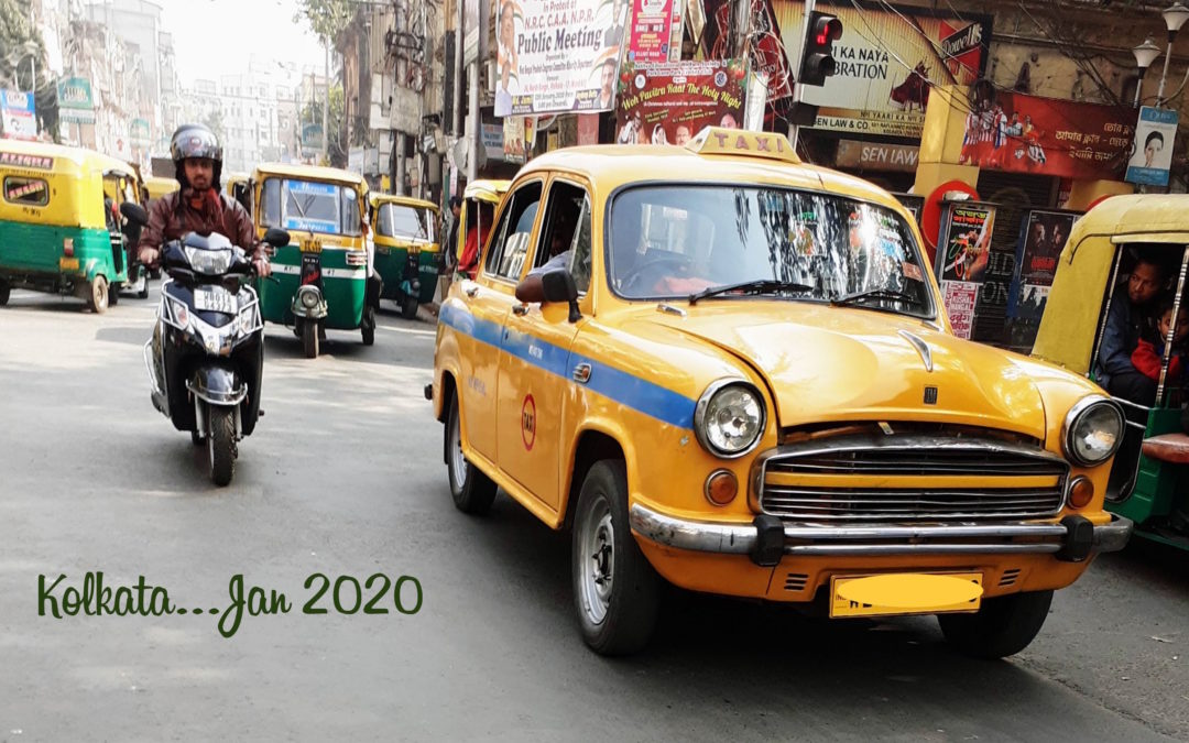 First glimpse of Kolkata and the itinerary…