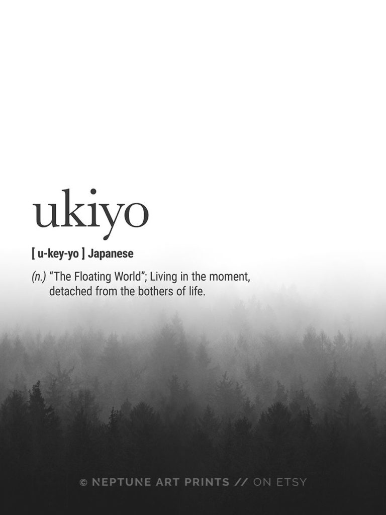 Ukiyo, floating world